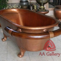 Copper Bathtub Handicraft | Kerajinan Bathtub Tembaga