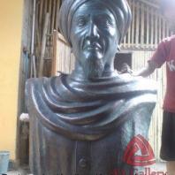 Patung Tembaga | Patung Tembaga Manusia Setengah Badan