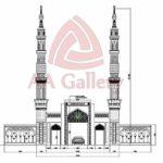 minaret kuningan