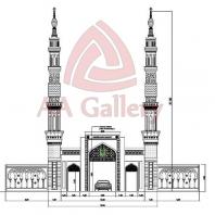 Minaret Kuningan Tembaga Project Gerbang Engku Putri Batam