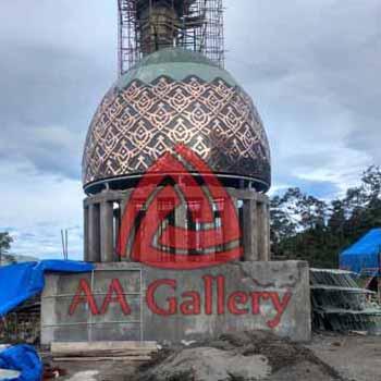 Pembuat Kubah Masjid Tembaga Thumb
