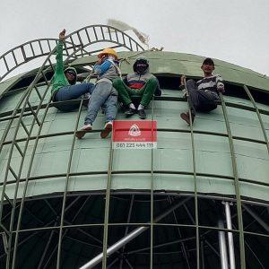 Kami Perajin Kubah Masjid, Bersedia Menerima Pesanan dan Pemasangan di Kabupaten Bangli