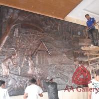 Beragam Handicraft  Tembaga and Kuningan dari Jateng bisa dipesan dari daerah Kota Kediri